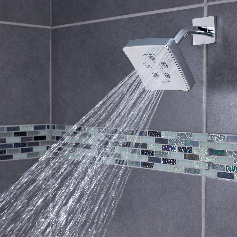 the edge shower head